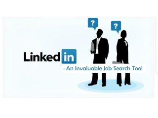 Linkedin - An Invaluable Job Search Tool