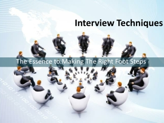 The Essence to Making The Right Foot Steps