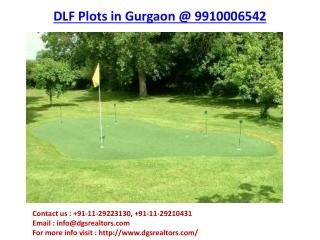 DLF Plots in Gurgaon
