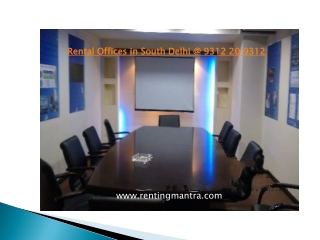 Commercial Office Space for Rent in Kailash Colony