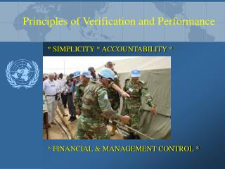 Principles of Verification and Performance