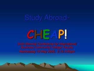 Study Abroad-