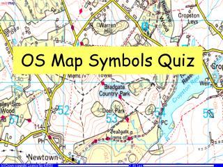 OS Map Symbols Quiz