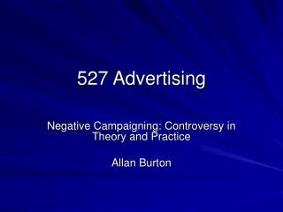527 Advertising