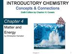 Introductory Chemistry: Concepts  Connections 4th Edition by ...