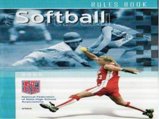 Obstruction 2006 NFH Softball Rules