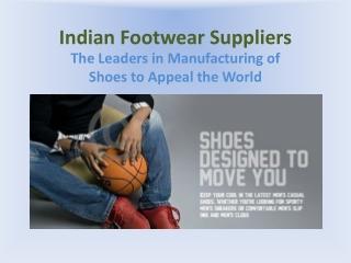 Indian  Footwear Supplier