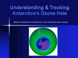 Understanding  Tracking Antarctica s Ozone Hole