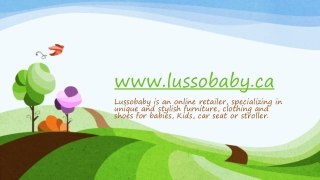Lussobaby stroller and kids clothing