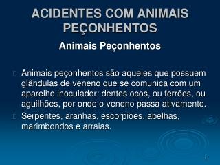 ACIDENTES OFÍDICOS 02