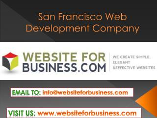 san francisco web development company