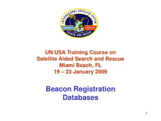 Beacon Registration - NOAA SARSAT