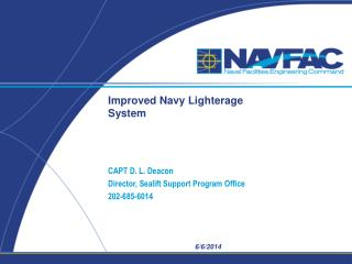 Improved Navy Lighterage System