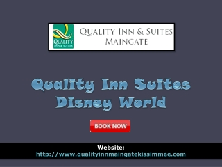 quality inn suites disney world