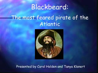 BlackBeard Powerpoint - LEARN NC