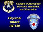 The Aerospace Domain