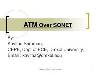 ATM Over SONET