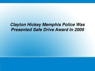 clayton hickey memphis police