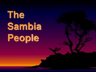 The Sambia People