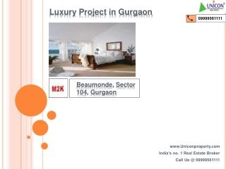 M2K Beaumonde Sector 104 Gurgaon