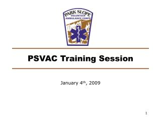 PSVAC Training Session