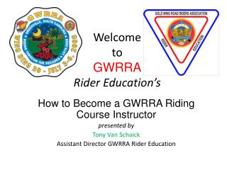 Welcome to GWRRA Rider Education