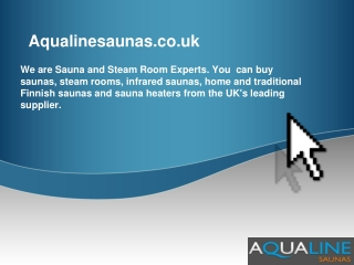 Aqualine sauna and saunas