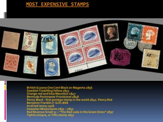 most expensive stamps