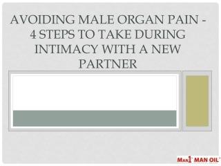 Avoiding Male Organ Pain
