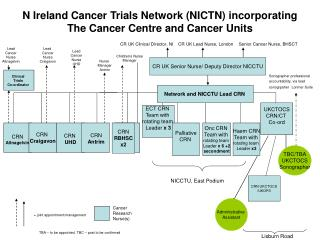 N Ireland Cancer Trials Network NICTN incorporating The Cancer Centre and Cancer Units