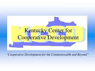 Kentucky Center for Cooperative Development