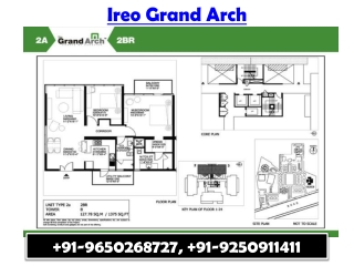 Ireo Grand Arch sector 58 @ 9650268727