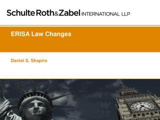 ERISA Law Changes