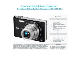 samsung pl210 review