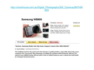 samsung wb600 review