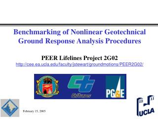 Benchmarking of Nonlinear Geotechnical Ground Response Analysis ...