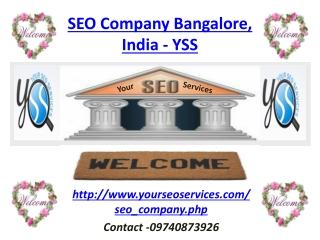 SEO Company in Bangalore, India -YSS