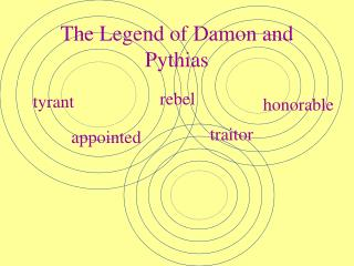 The Legend of Damon and Pythias