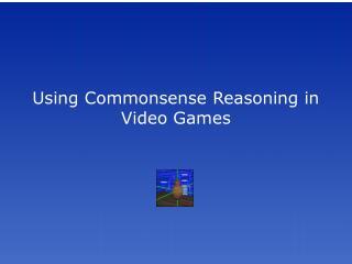 videoGames. ppt - Software Agents - MIT