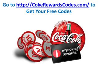 coke rewards codes