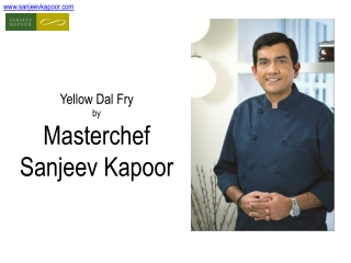 Vegetarian Recipe by Master Chef Sanjeev Kapoor