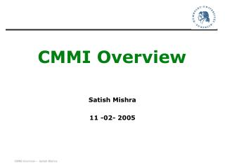 CMMI Overview