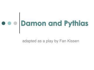 Damon and Pythias
