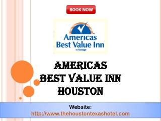 Americas best value inn houston