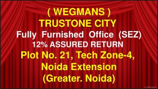 trustone city  @ 9654953105 best deals