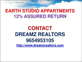 earth studio apartments , call 9654953105