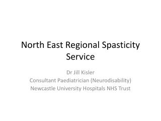 North East Regional Spasticity Service