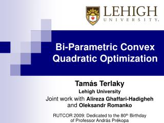 Bi-Parametric Convex Quadratic Optimization