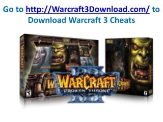 warcraft 3 tips and trick