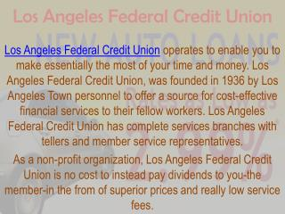 la federal credit union
